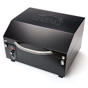Traeger-TFT17LLA-PTG+-Wood-Pellet-Grill,-Black