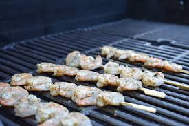 grilling shrimp tips